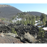 Sunset Crater - Lava Flow Trail